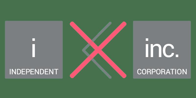 個人事業主と会社の強弱