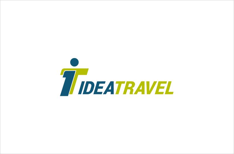 米国・ワシントンDCの旅行代理店、イデアトラベルのロゴ