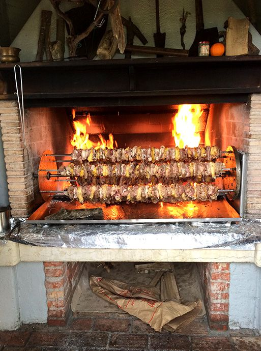 トレビーゾ、ヴァルドッビアーデネのリバ・デ・ミランの肉